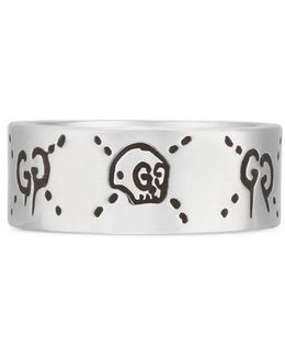 Ghost Ring In Silver