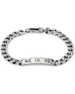 Ghost Chain Bracelet In Silver