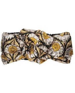 Floral Jacquard Headband