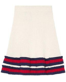Knit Wool Skirt