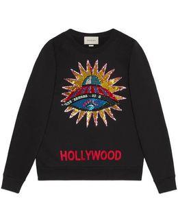 Ufo Embroidered Sweatshirt