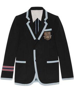 Cotton Wool Marine Jacket