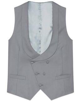 Wool Gabardine Vest