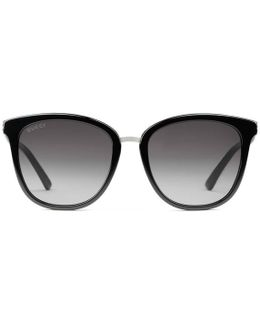 Round-frame Acetate And Sunglasses
