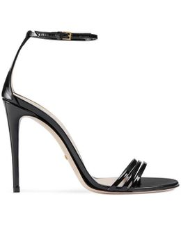 Patent Leather Sandal