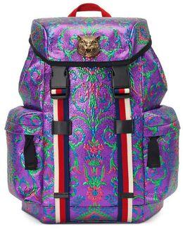 Multicolor Brocade Techpack