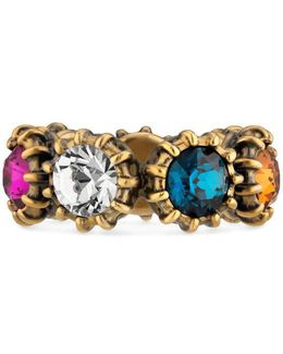 Ring With Crystals