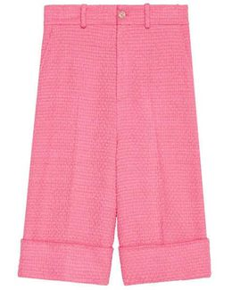 Light Tweed Bermuda Short