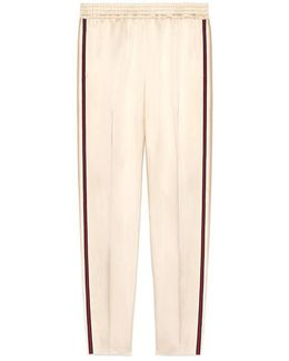 Duchesse Ankle Pant With Web