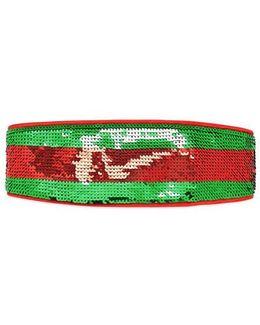 Sequin Web Headband