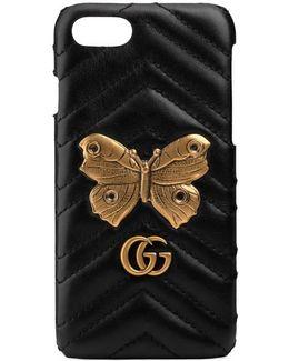 Gg Marmont Moth Stud Iphone 7 Case