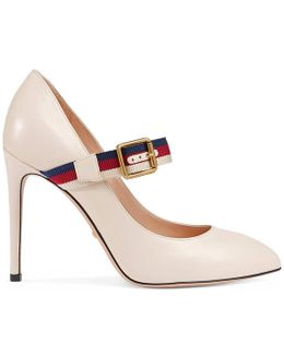 Sylvie Leather Pump
