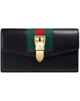 Sylvie Leather Continental Wallet