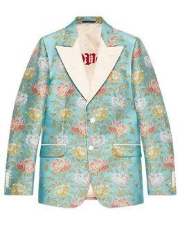 Heritage Floral Tapestry Jacquard Jacket