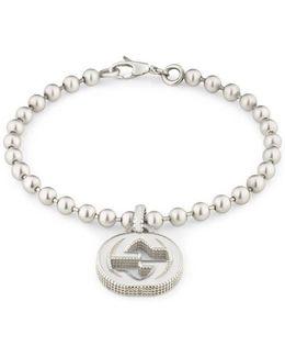 Interlocking G Bracelet In Silver
