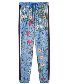 New Flora Print Jogging Pant