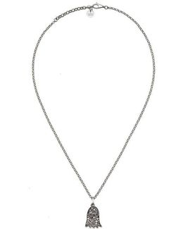 Ghost Necklace With Diamonds
