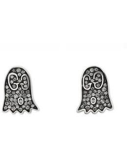 Ghost Earrings With Diamonds