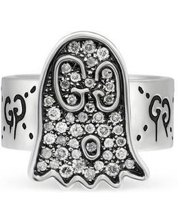 Ghost Ring With Diamonds