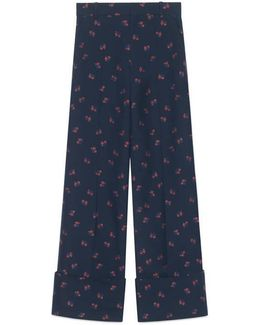 Rose Fil Coupé Relaxed Pant