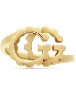Double G Yellow Gold Ring