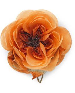 Oversize Flower Brooch