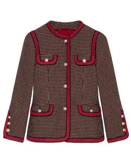Wool Polka Dot Jacket
