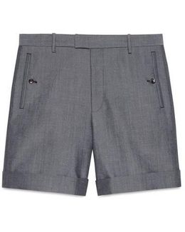 Panama Wool Mohair Short