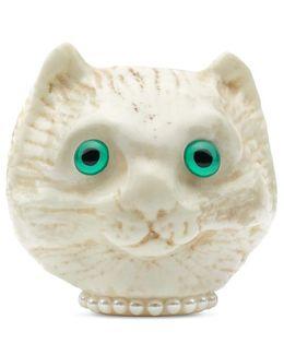 Cat Head Brooch