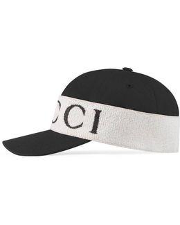 Baseball Hat With Headband