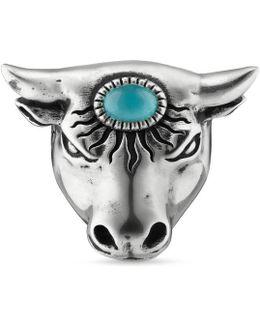 Anger Forest Bull's Head Ring