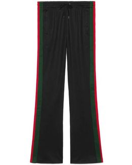 Technical Jersey Flare Pant