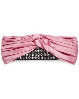 Silk Headband With Crystals