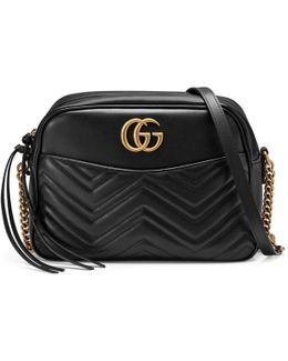 GG Marmont Matelassé Leather Shoulder Bag