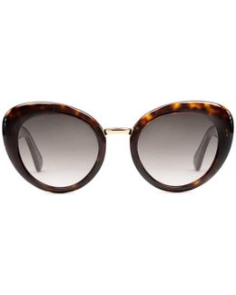 Oversize Cat Eye Sunglasses