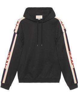 Technical Jersey Sweatshirt
