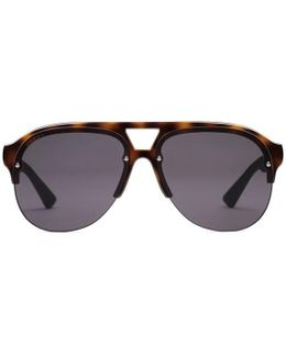 Aviator Rubber Sunglasses