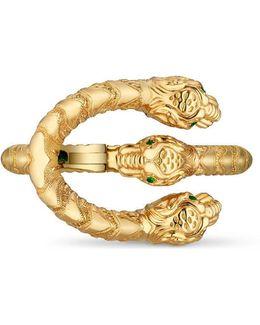 Dionysus Bracelet In Yellow Gold With Tsavorites