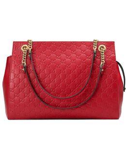 Soft Signature Shoulder Bag