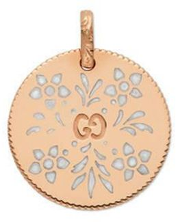Icon Charm In Rose Gold