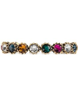 Cuff Bracelet With Crystals