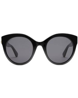 Oversize Cat Eye Acetate Sunglasses