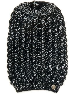 Two-colour Pattern Knit Hat