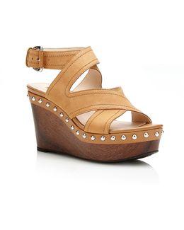 Darley Suede Wedge Sandal