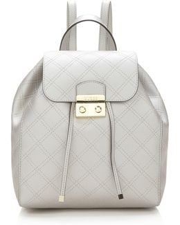 Aria Quilted Pattern Backpack