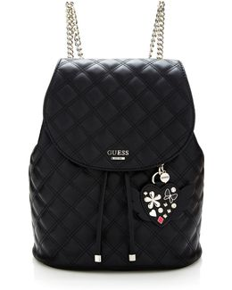 Darin Quilted-look Backpack