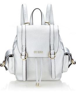 Tulip Metal-look Backpack