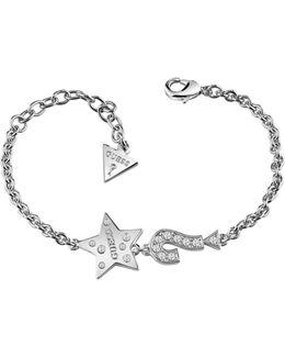 Feel Rhodium-plated Bracelet