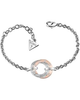 E-motions Bracelet With Rose Gold Plated Circle