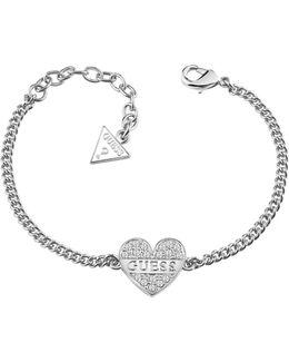 My Darling Rhodium-plated Bracelet